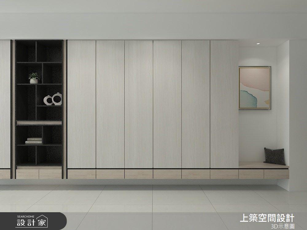 26坪預售屋_現代風客廳案例圖片_上築空間設計_上築_36之1