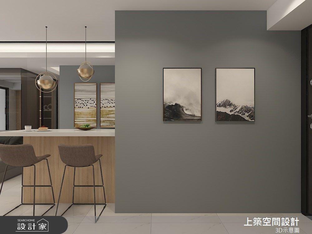 30坪預售屋_混搭風餐廳案例圖片_上築空間設計_上築_38之2