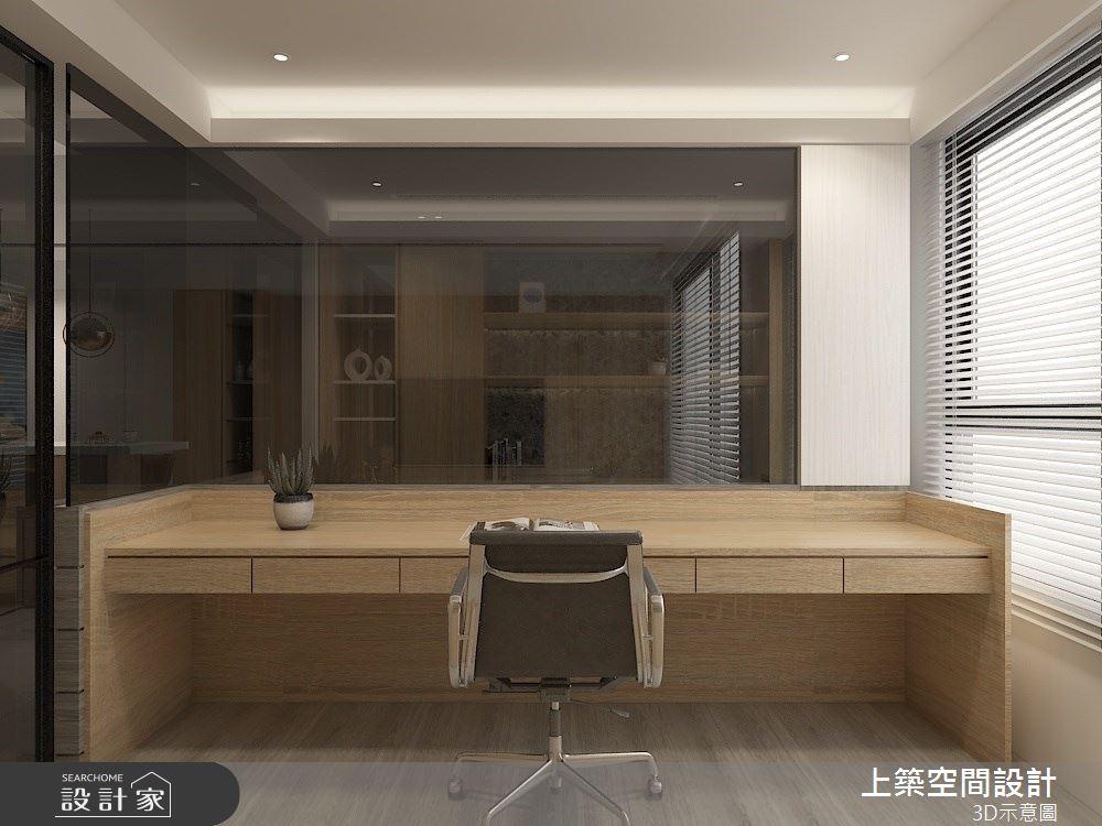 30坪預售屋_混搭風書房案例圖片_上築空間設計_上築_38之7