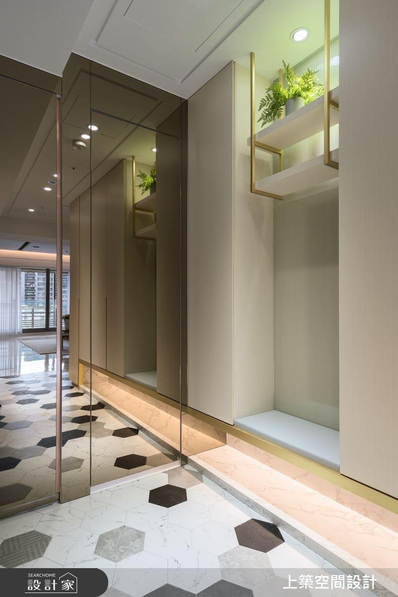 60坪新成屋(5年以下)_現代風玄關案例圖片_上築空間設計_上築_41之2