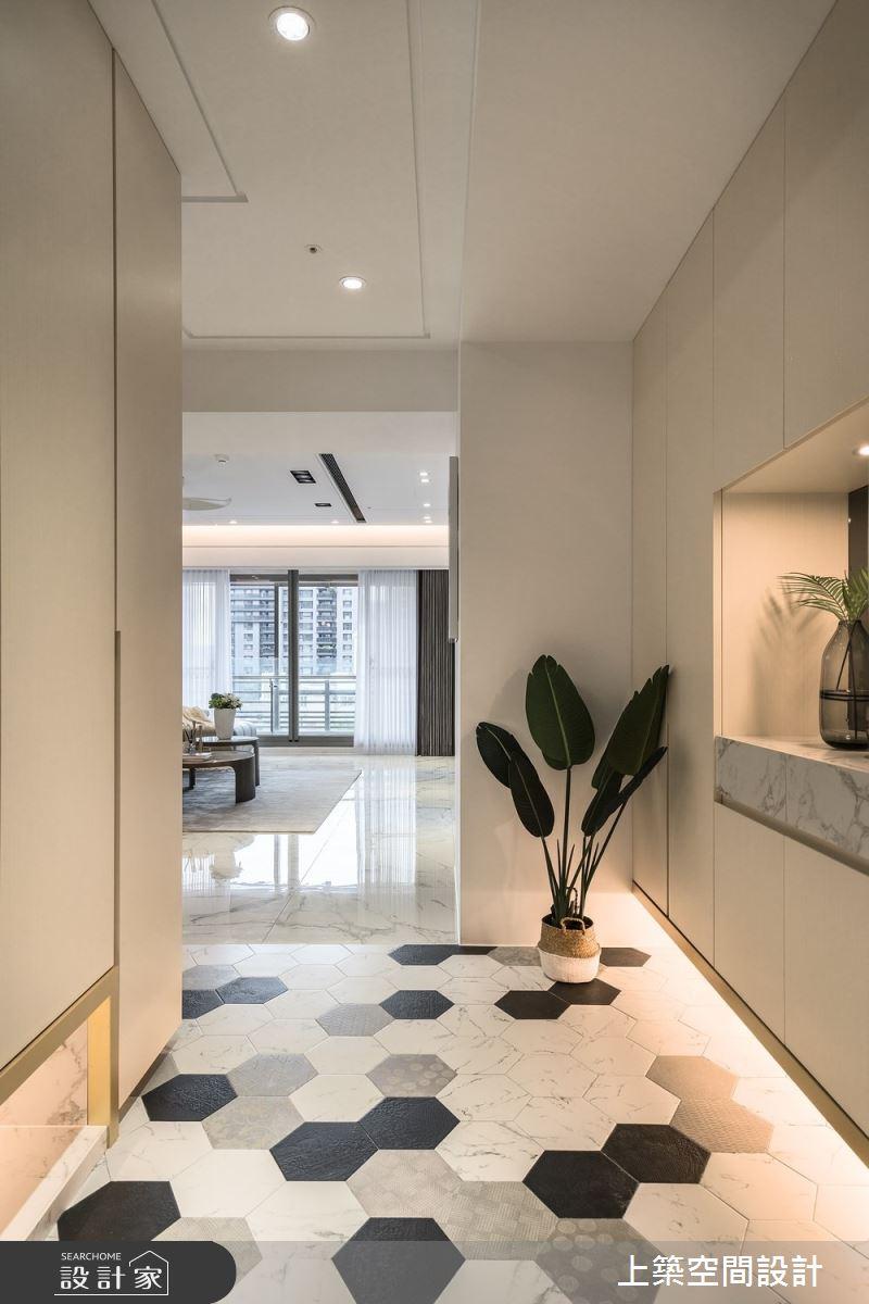 60坪新成屋(5年以下)_現代風玄關案例圖片_上築空間設計_上築_41之3