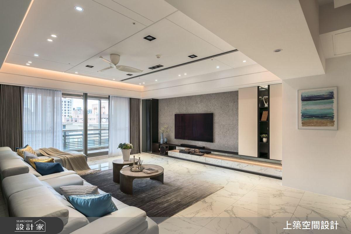 60坪新成屋(5年以下)_現代風客廳案例圖片_上築空間設計_上築_41之5