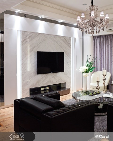 80坪中古屋(5~15年)_奢華風案例圖片_里歐室內設計_里歐_11之3