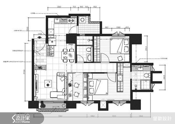 30坪新成屋(5年以下)_北歐風案例圖片_里歐室內設計_里歐_13之36