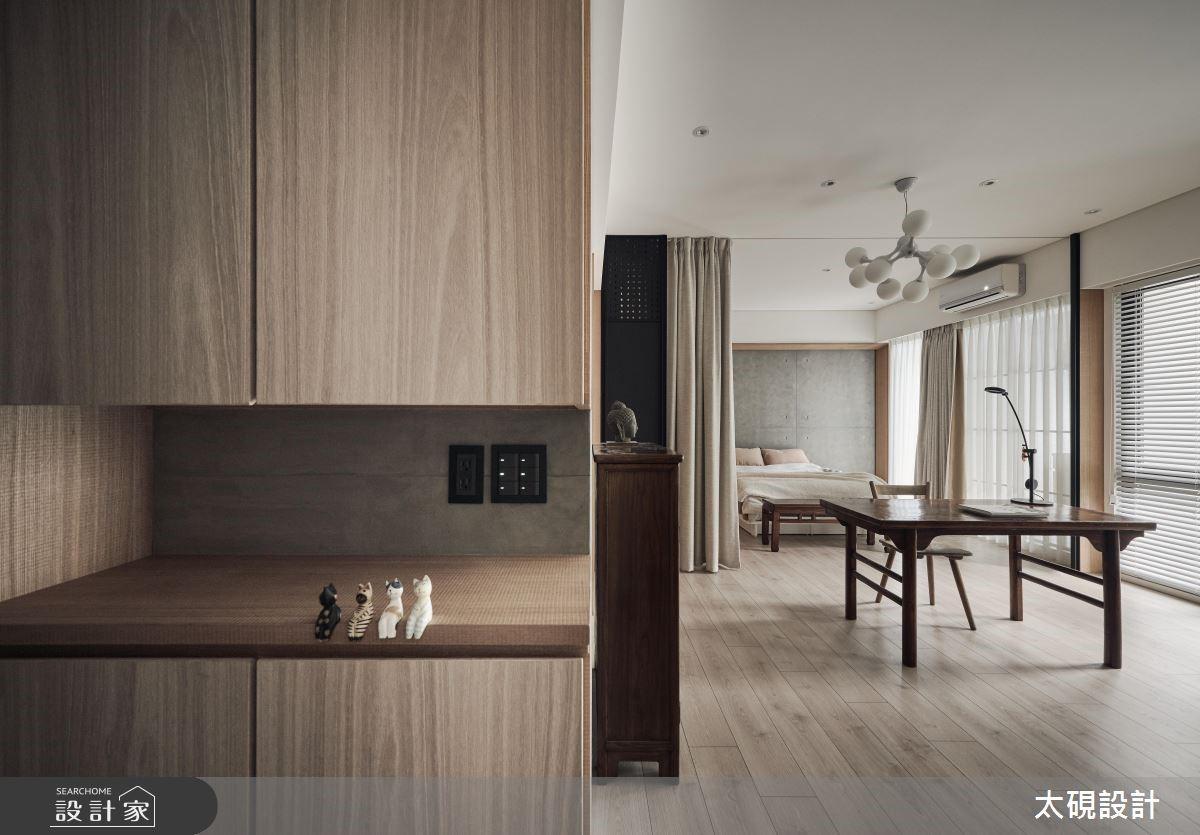 16坪新成屋(5年以下)_現代風玄關案例圖片_太硯室內裝修有限公司_太硯_03之1