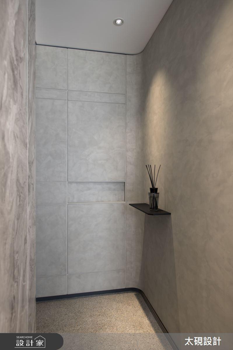 23坪新成屋(5年以下)_現代風玄關案例圖片_太硯室內裝修有限公司_太硯_07之2