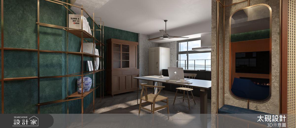 20坪老屋(16~30年)_現代風餐廳廚房案例圖片_太硯室內裝修有限公司_太硯_13之4