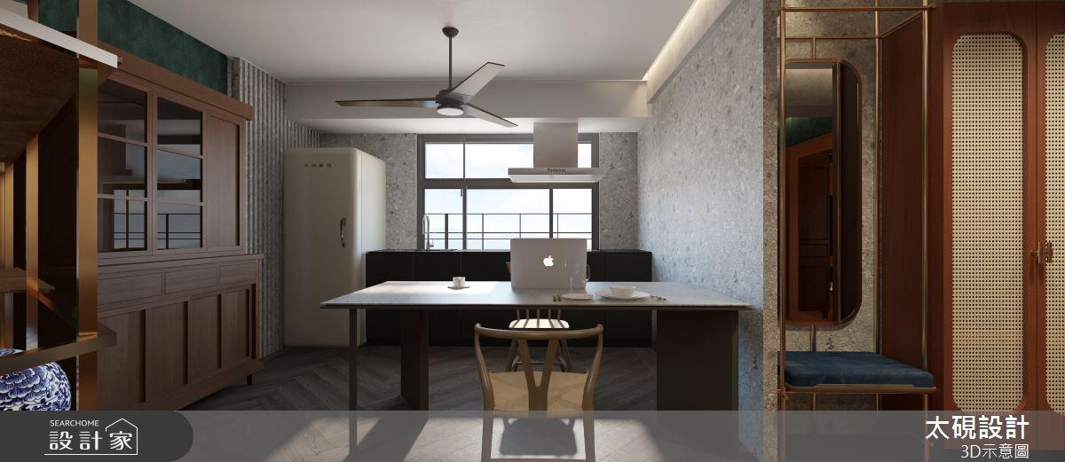 20坪老屋(16~30年)_現代風餐廳廚房案例圖片_太硯室內裝修有限公司_太硯_13之5