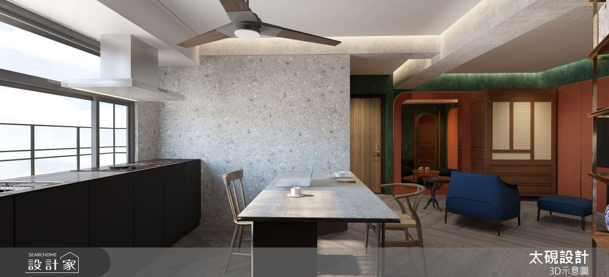 20坪老屋(16~30年)_現代風客廳餐廳案例圖片_太硯室內裝修有限公司_太硯_13之6