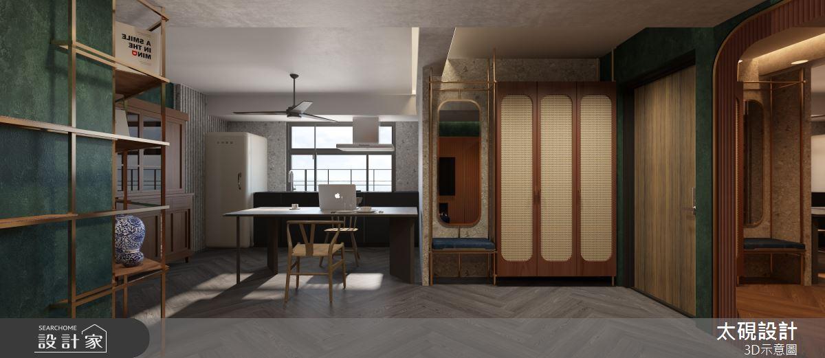 20坪老屋(16~30年)_現代風餐廳廚房案例圖片_太硯室內裝修有限公司_太硯_13之3