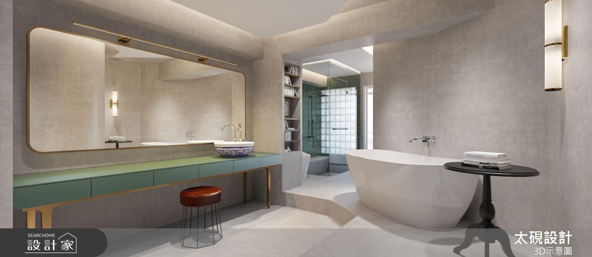 20坪老屋(16~30年)_現代風浴室案例圖片_太硯室內裝修有限公司_太硯_13之12