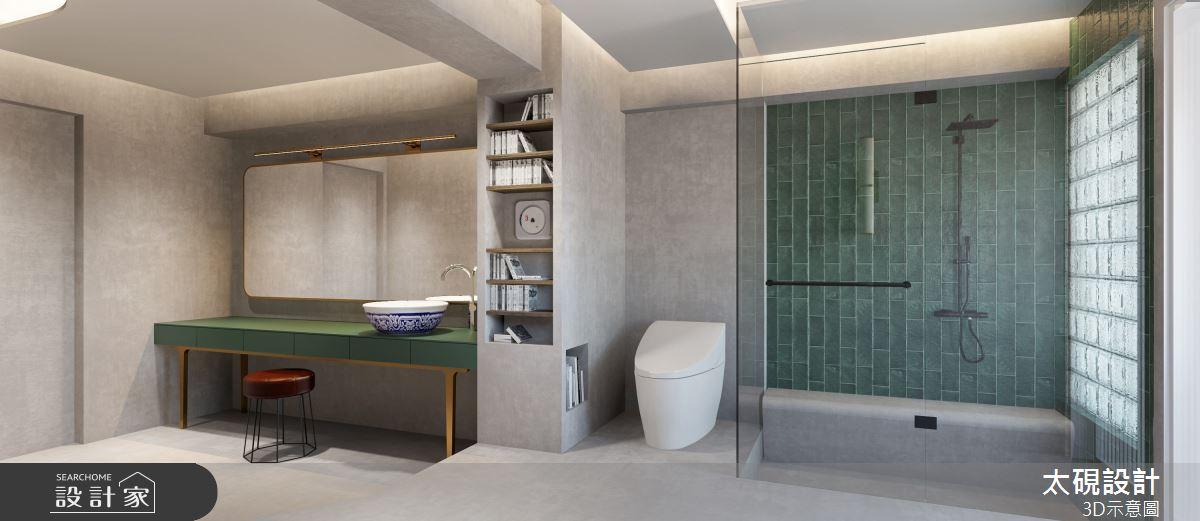20坪老屋(16~30年)_現代風浴室案例圖片_太硯室內裝修有限公司_太硯_13之13