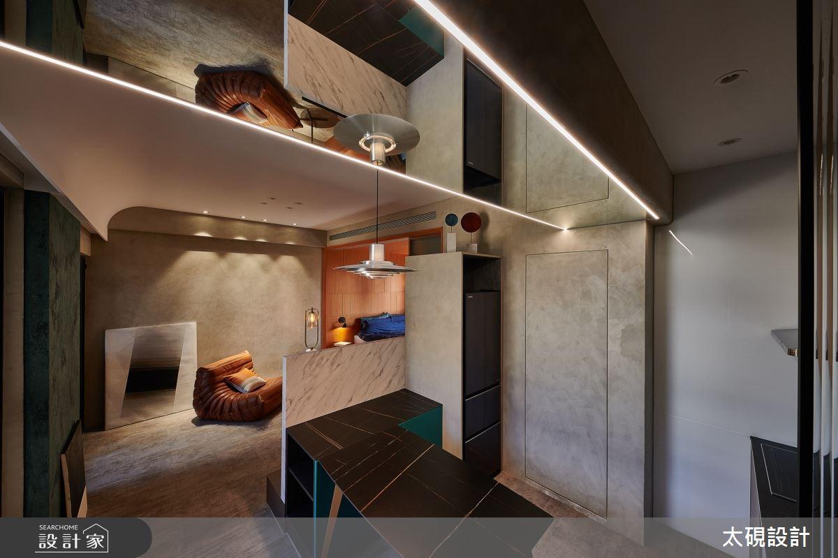 10坪中古屋(5~15年)_現代風客廳案例圖片_太硯室內裝修有限公司_太硯_15之2