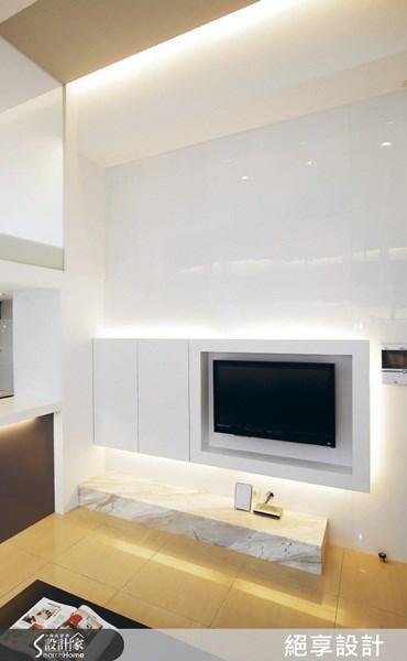 _現代風客廳案例圖片_絕享設計_絕享設計/絕享設計團隊之3