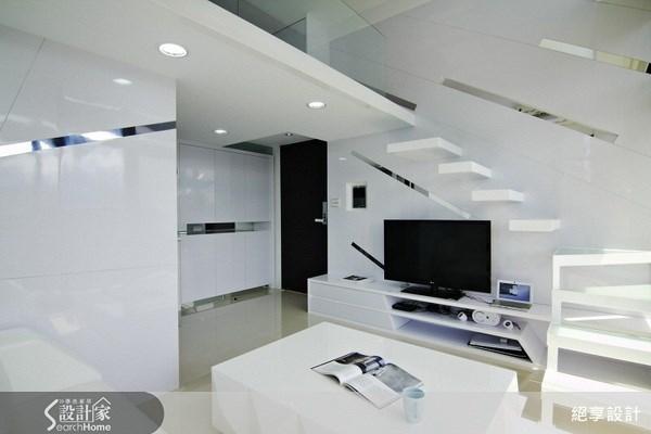 5坪新成屋(5年以下)_現代風客廳案例圖片_絕享設計_絕享_30之1