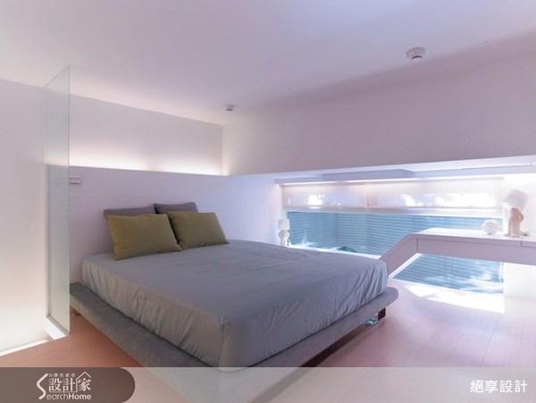 25坪新成屋(5年以下)_現代風臥室案例圖片_絕享設計_絕享_31之18