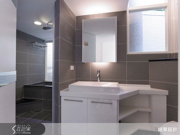 25坪新成屋(5年以下)_現代風浴室案例圖片_絕享設計_絕享_31之19
