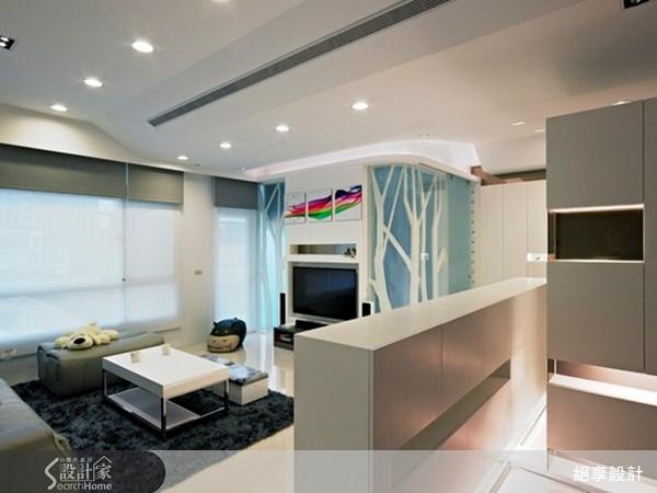 60坪新成屋(5年以下)_混搭風客廳案例圖片_絕享設計_絕享_39之1