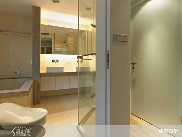 21坪新成屋(5年以下)_現代風浴室案例圖片_絕享設計_絕享_41之24