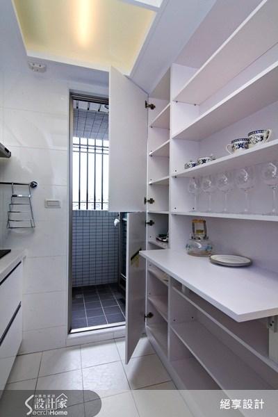 11坪新成屋(5年以下)_混搭風廚房案例圖片_絕享設計_絕享_48之18