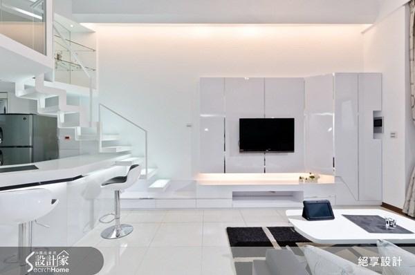 17坪新成屋(5年以下)_現代風客廳案例圖片_絕享設計_絕享_49之4