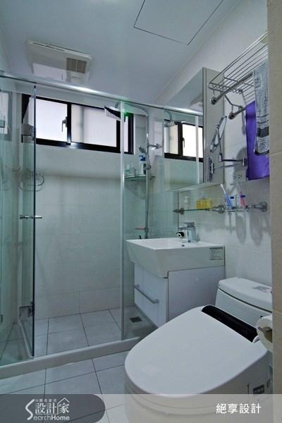 25坪新成屋(5年以下)_現代風浴室案例圖片_絕享設計_絕享_52之27