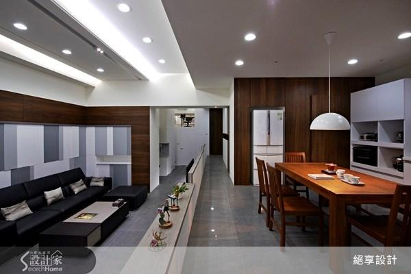 40坪中古屋(5~15年)_現代風餐廳案例圖片_絕享設計_絕享_55之4