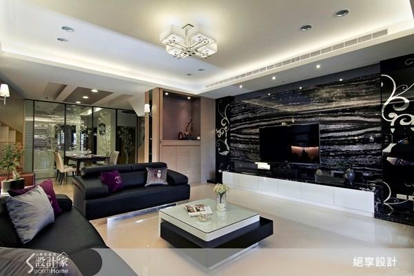 70坪新成屋(5年以下)_現代風客廳案例圖片_絕享設計_絕享_56之4