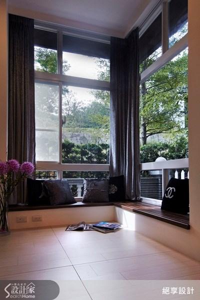 30坪新成屋(5年以下)_現代風客廳案例圖片_絕享設計_絕享_61之3