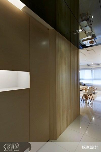 20坪新成屋(5年以下)_簡約風走廊案例圖片_絕享設計_絕享_62之1
