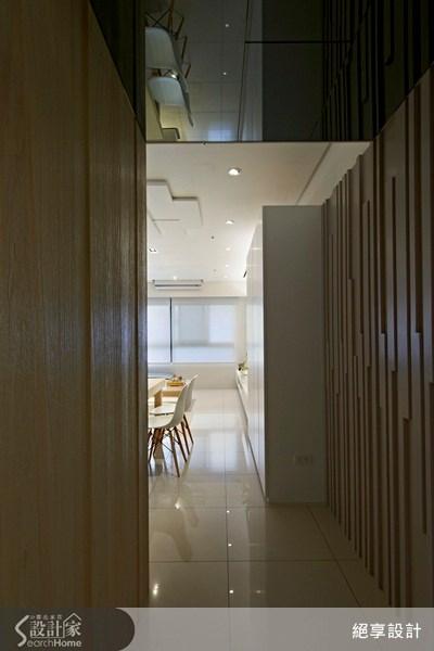 20坪新成屋(5年以下)_簡約風走廊案例圖片_絕享設計_絕享_62之2