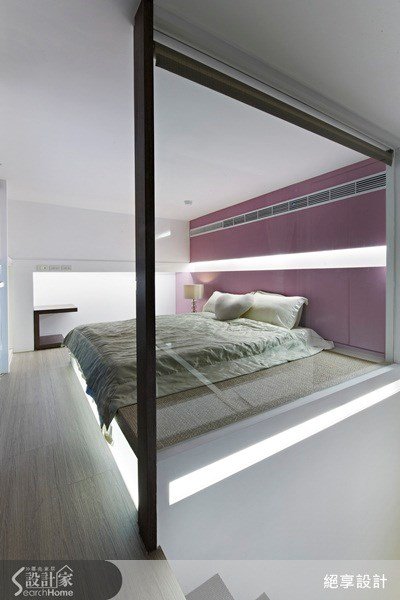 30坪新成屋(5年以下)_簡約風臥室案例圖片_絕享設計_絕享_63之18