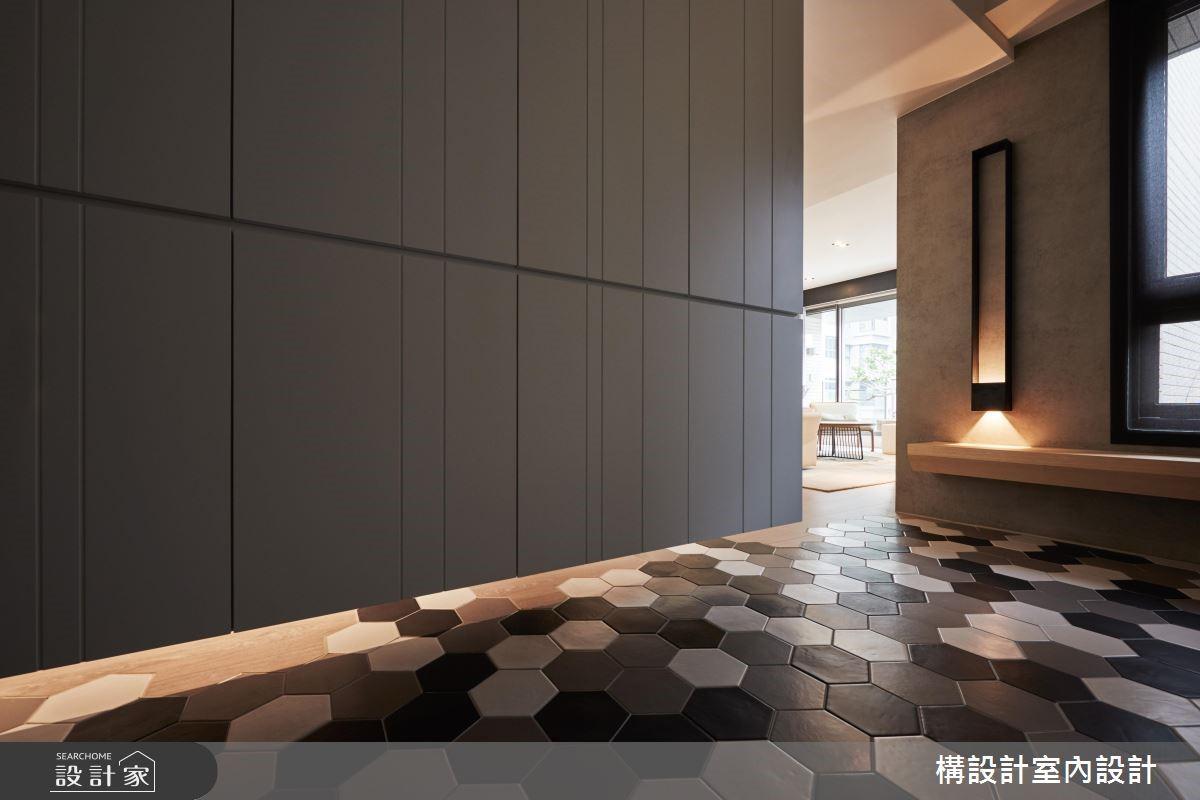60坪新成屋(5年以下)_現代風玄關案例圖片_構設計_構設計_家的溫度之2