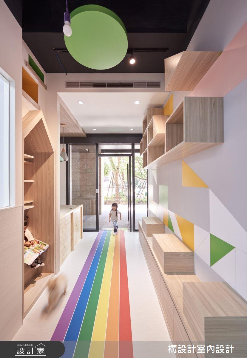 130坪新成屋(5年以下)_現代風商業空間案例圖片_構設計_構設計_KUO LI 英語語言學校之2