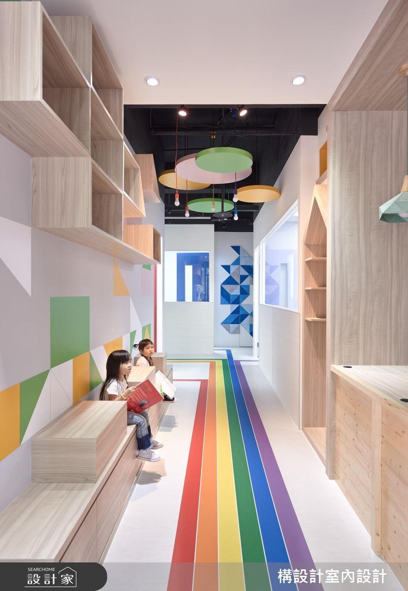 130坪新成屋(5年以下)_現代風商業空間案例圖片_構設計_構設計_KUO LI 英語語言學校之4