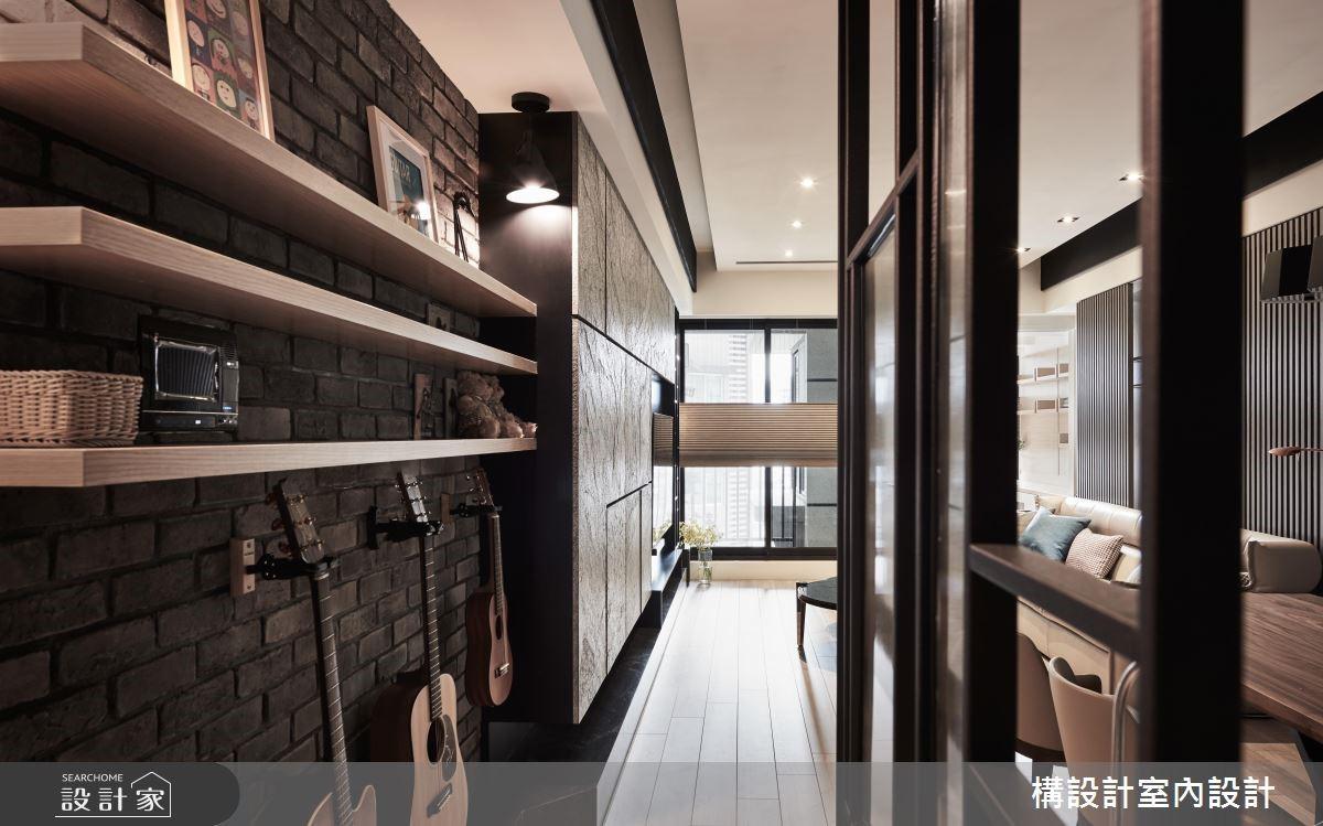 40坪新成屋(5年以下)_現代風餐廳案例圖片_構設計_構設計_空間的表情。當灰階遇上彩虹之5