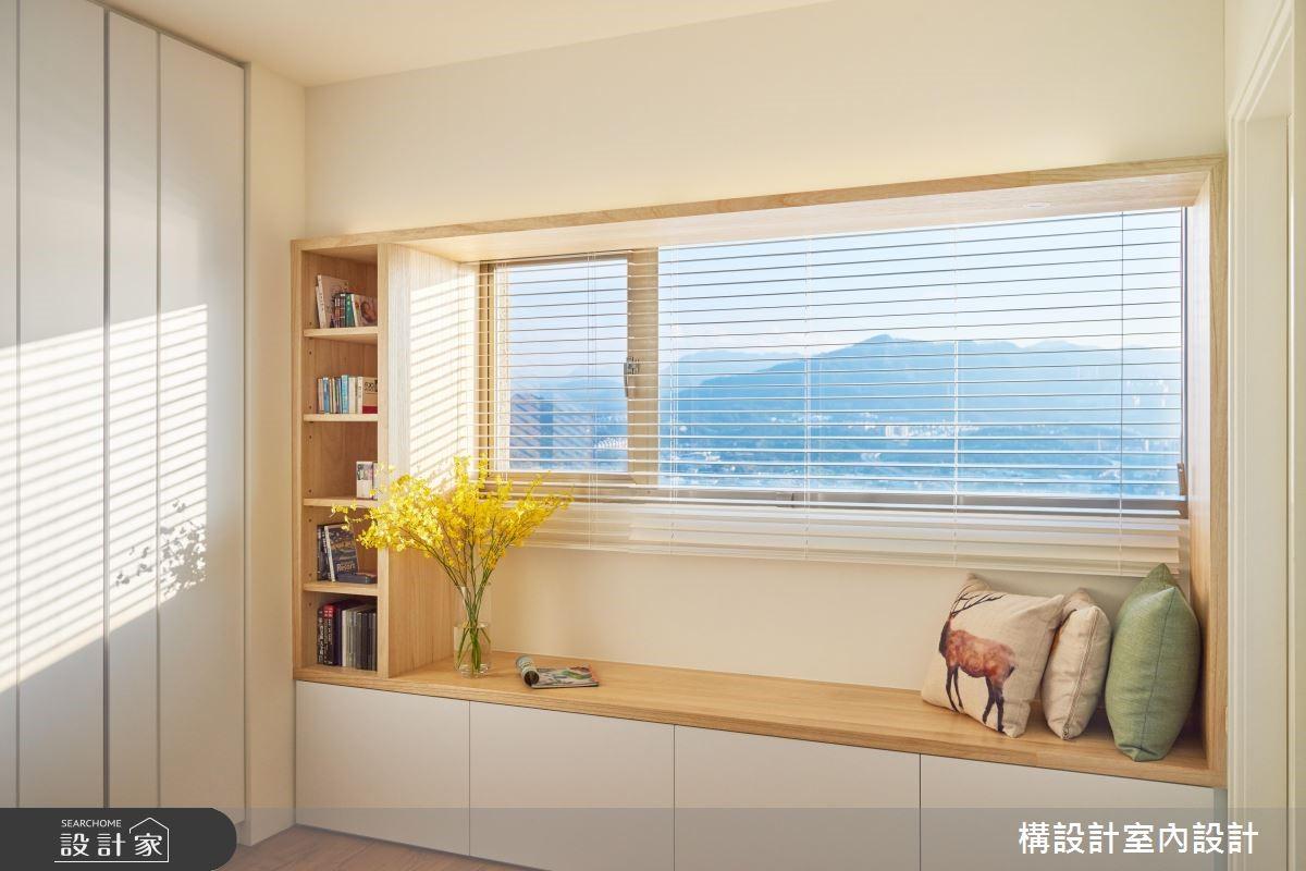 40坪老屋(16~30年)_鄉村風臥室案例圖片_構設計_構設計_空中水岸之家之17