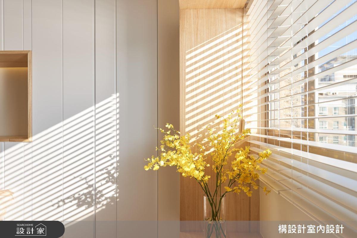 40坪老屋(16~30年)_鄉村風臥室案例圖片_構設計_構設計_空中水岸之家之21