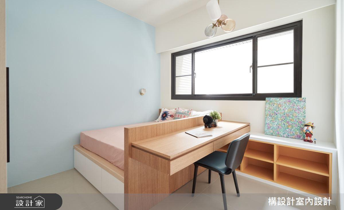 50坪新成屋(5年以下)_現代風臥室案例圖片_構設計_構設計_為繁忙留白之23