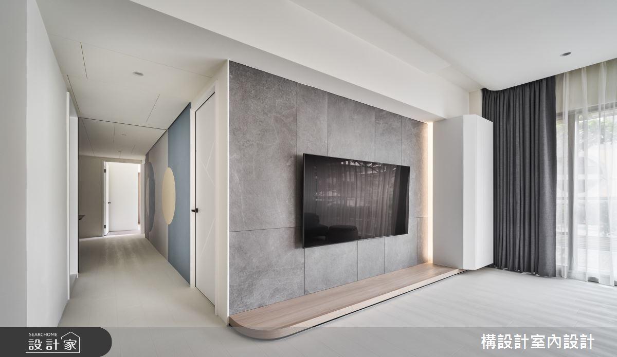 40坪中古屋(5~15年)_北歐風客廳案例圖片_構設計_構設計_Reunion之3