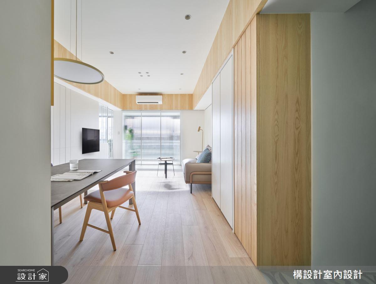 20坪老屋(16~30年)_日式無印風餐廳案例圖片_構設計_構設計_綠實蕪華之2