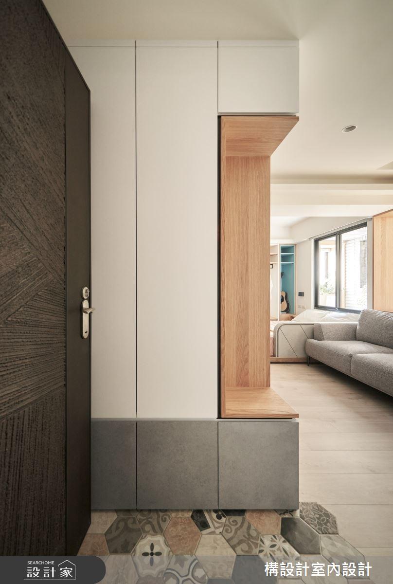 11坪新成屋(5年以下)_日式無印風案例圖片_構設計_構設計_眶框之1