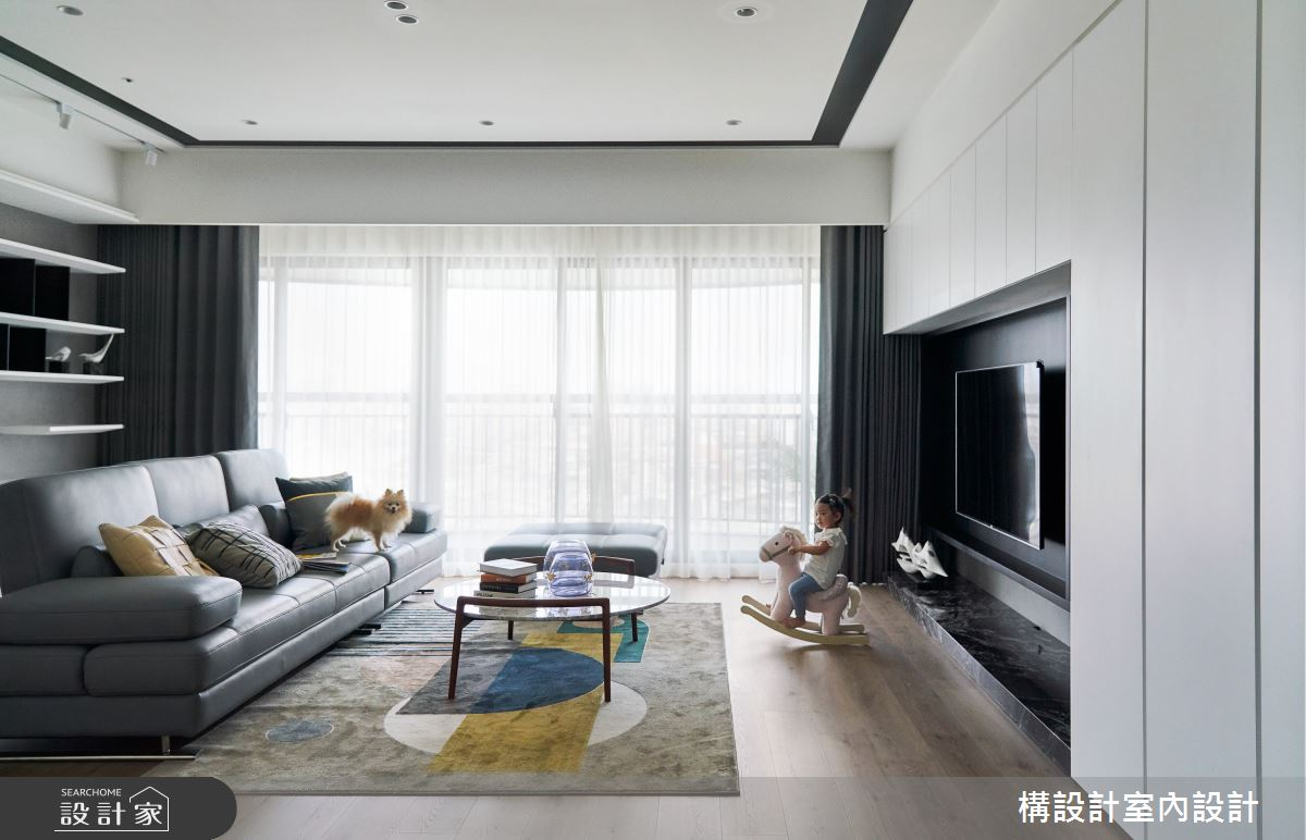 50坪新成屋(5年以下)_現代風案例圖片_構設計_構設計_幸福時年之12