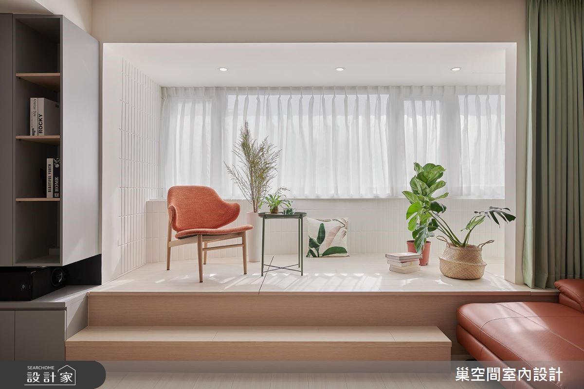 32坪老屋(16~30年)_北歐風書房案例圖片_巢空間室內設計_巢空間_03之4
