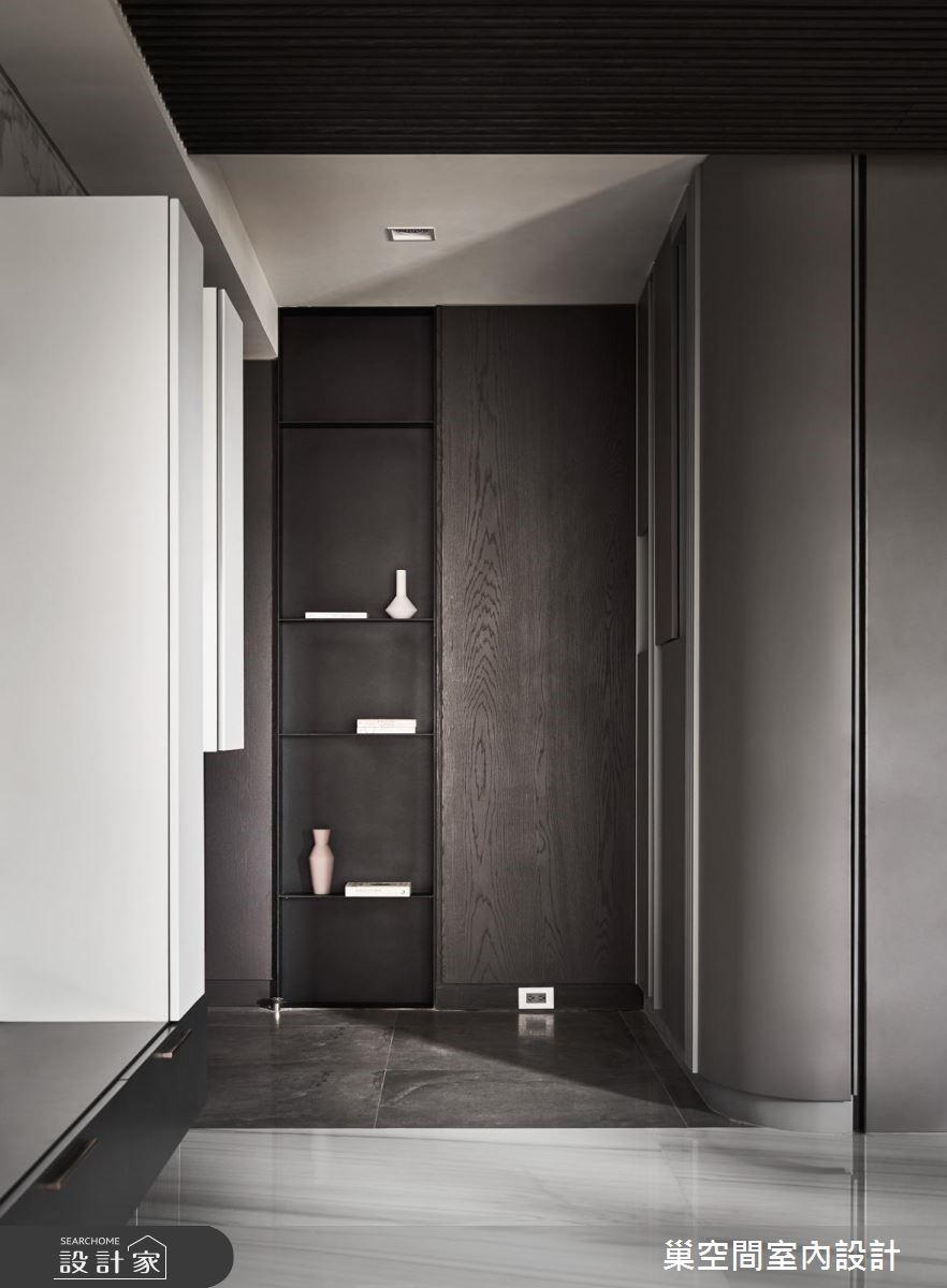 35坪新成屋(5年以下)_現代風玄關案例圖片_巢空間室內設計_巢空間_04之2