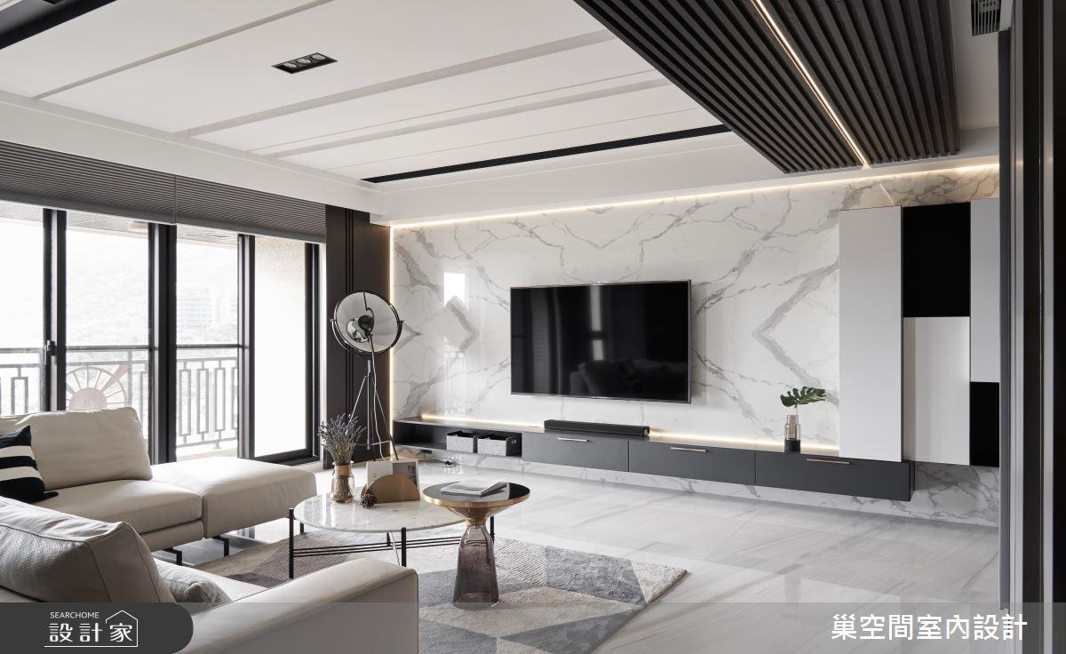35坪新成屋(5年以下)_現代風客廳案例圖片_巢空間室內設計_巢空間_04之67