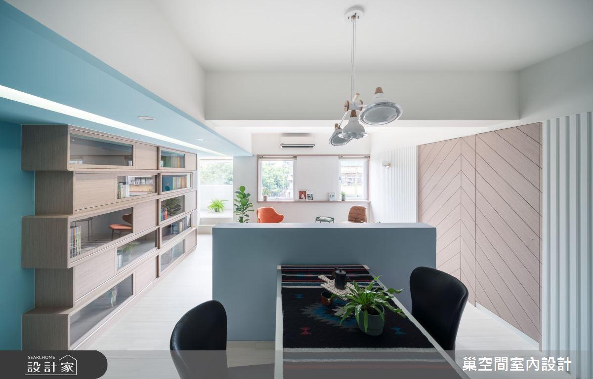 25坪老屋(16~30年)_北歐風客廳案例圖片_巢空間室內設計_巢空間_05之2