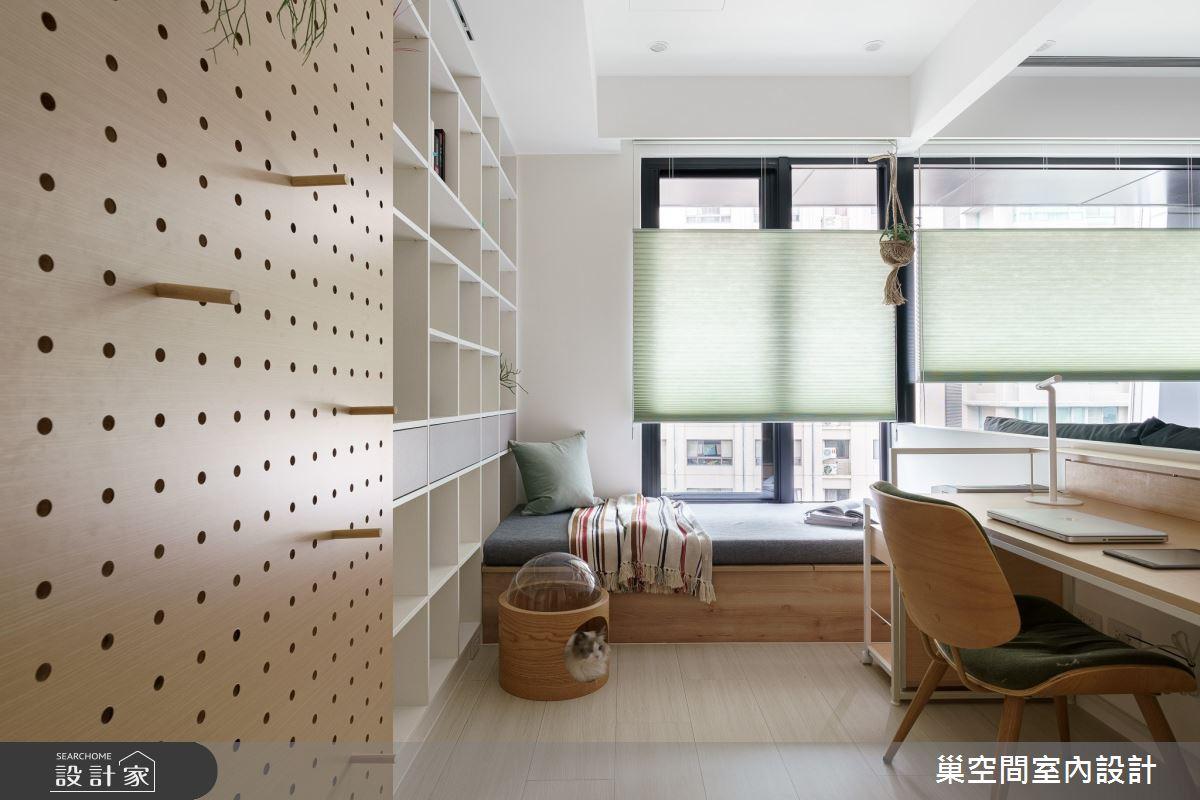 15坪新成屋(5年以下)_北歐風臥榻案例圖片_巢空間室內設計_巢空間_06之15
