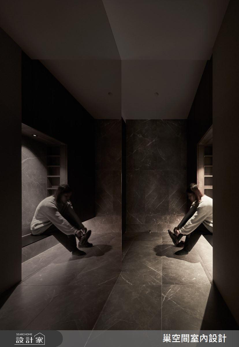55坪新成屋(5年以下)_現代風玄關案例圖片_巢空間室內設計_巢空間_12之2