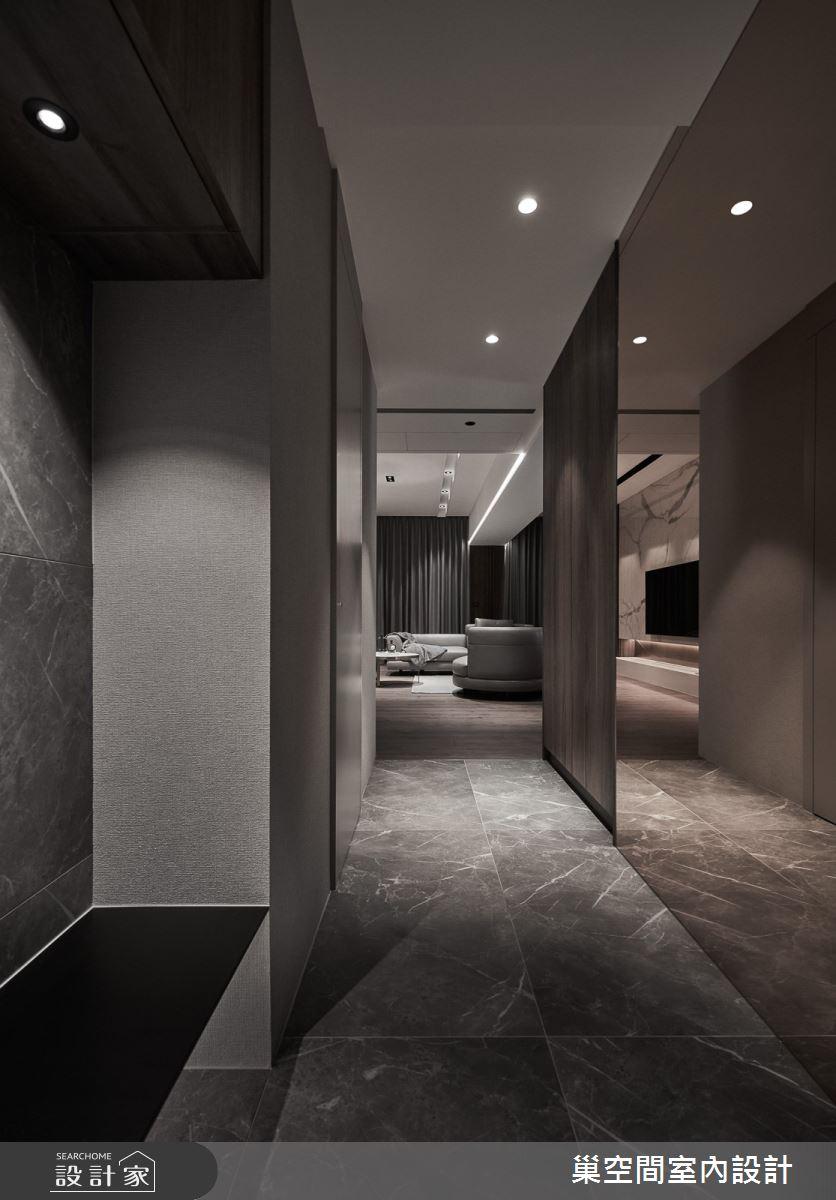 55坪新成屋(5年以下)_現代風玄關案例圖片_巢空間室內設計_巢空間_12之3